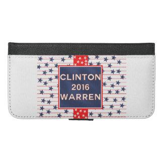 Clinton Warren 2016 iPhone 6/6s Plus Wallet Case
