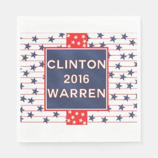 Clinton Warren 2016 Paper Napkin