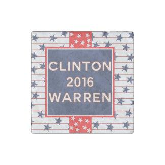 Clinton Warren 2016 Stone Magnet