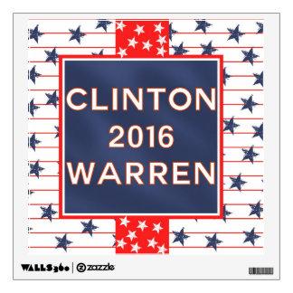 Clinton Warren 2016 Wall Sticker