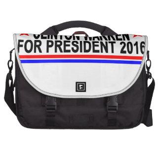 CLINTON WARREN FOR PRESIDENT 2016 Tee Shirts.png Commuter Bag