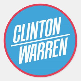 Clinton / Warren Sticker Sheet