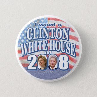 Clinton White House Button