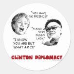 clintondiplomacy sticker