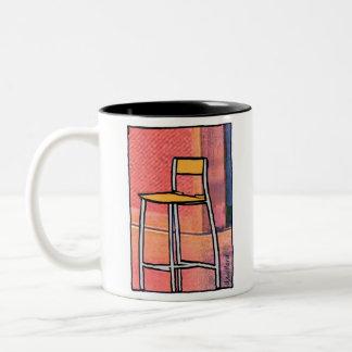 Clint's Chair Two-Tone Coffee Mug