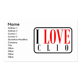 Clio, Alabama City Design Double-Sided Standard Business Cards (Pack Of 100)