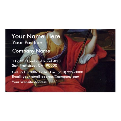 Clio By Mignard Pierre (Best Quality) Business Card Templates