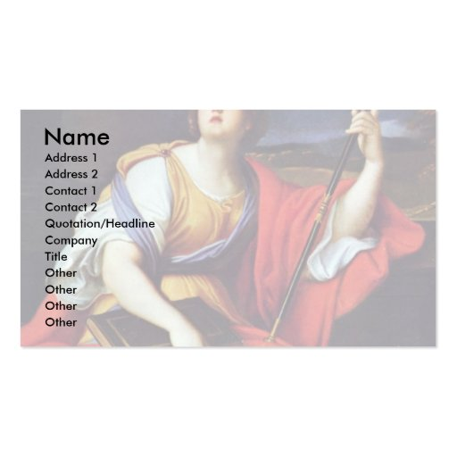 Clio By Mignard Pierre (Best Quality) Business Cards