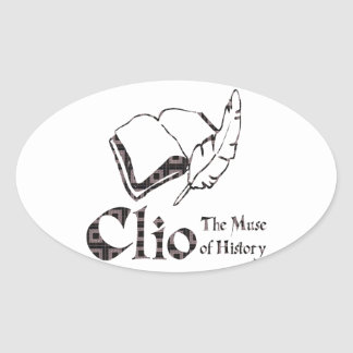 Clio Oval Sticker