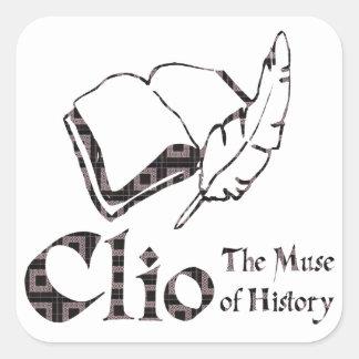 Clio Square Sticker