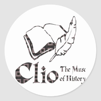 Clio Round Sticker