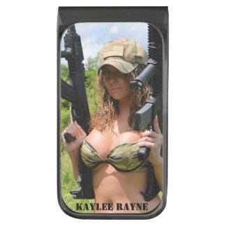Clip 03 del dinero de Kaylee Rayne- Clip Para Billetes Plomizo