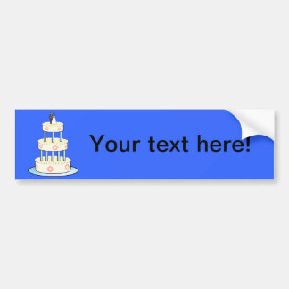Clip art del pastel de bodas etiqueta de parachoque