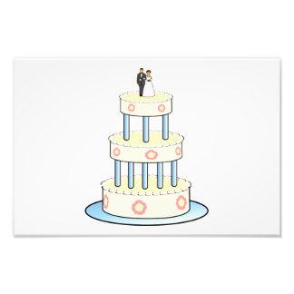 Clip art del pastel de bodas foto