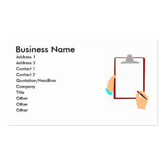 Clip Board Office Business Card