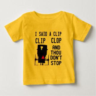 CLIP CLOP HIP HOP BABY T-Shirt