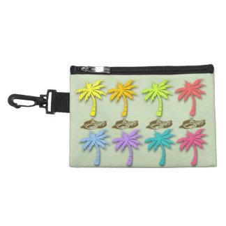 Clip de las palmeras del verano en bolso accesorio