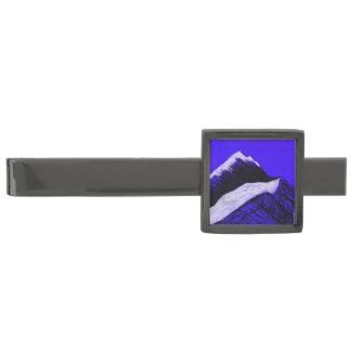 clip de lazo bronce de cañón de la soledad evasiva alfiler de corbata metalizado