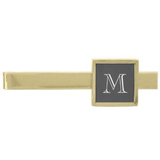 Clip de lazo de encargo del monograma con inicial
