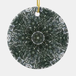Clip de papel pedazos febrero de 2013 ornamento para arbol de navidad