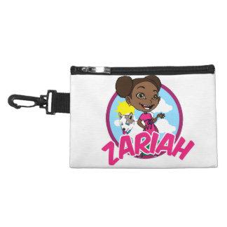 Clip de Zariah en bolso accesory