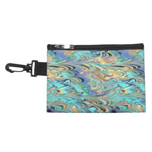clip del modelo del papel veteado en bolso accesor
