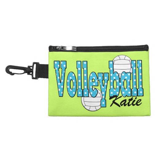 Clip del voleibol en bolso accesorio