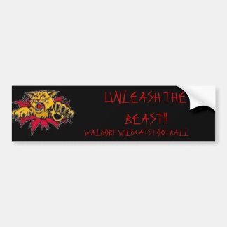 clip_image002, UNLEASH THE BEAST!!, WALDORF WIL... Bumper Sticker