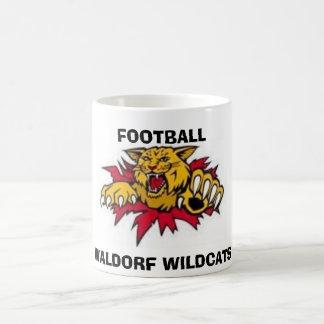 clip_image002, WALDORF WILDCATS, FOOTBALL Coffee Mugs