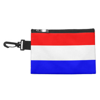 Clip On Accessory Bag in Red-White-Blue