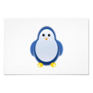 Clipart azul del pingüino fotografías