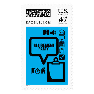 Clipart Choose your Color3 Custom Retirement Stamp