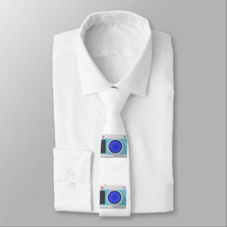 Clipart de la cámara de la foto corbata fina