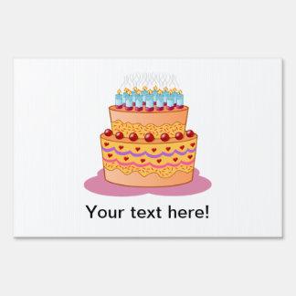 Clipart de la torta de cumpleaños