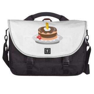 Clipart de la torta de cumpleaños bolsas para portátil
