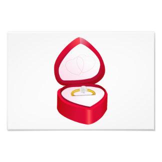 Clipart del anillo de compromiso fotografía