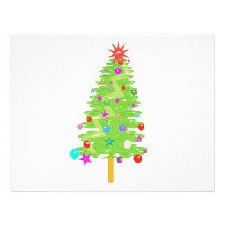 Clipart del árbol de navidad tarjeton