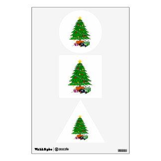 Clipart del árbol de navidad y de los regalos