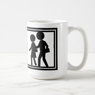 Clipart Madness #1 (Big Heads) Coffee Mug