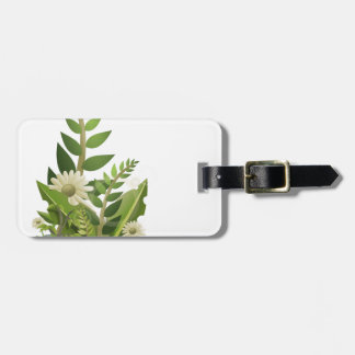 Clipart Plants, Pebbles, and Flowers Tag For Bags