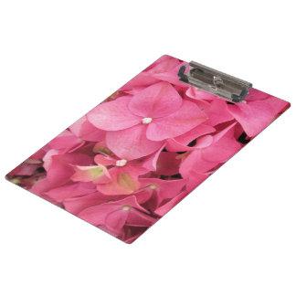 Clipboard - Dark Pink Hydrangeas
