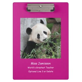 Clipboard, Giant Panda, World's Greatest Teacher