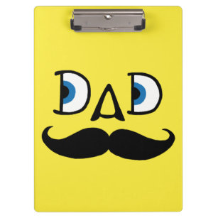 Clipboard: Hipster Dad Clipboard