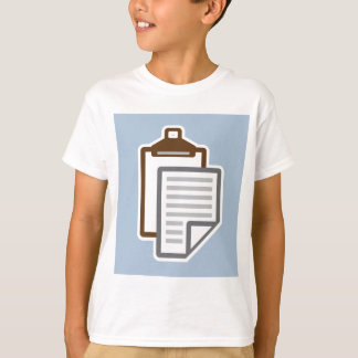 Clipboard Icon vector T-Shirt