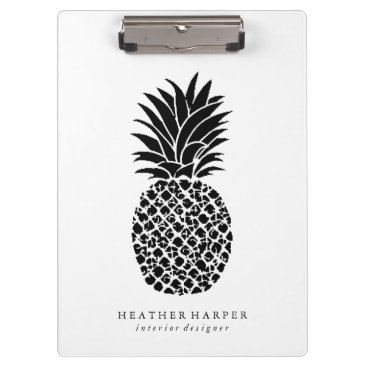 Professional Business Clipboard - Pineapple