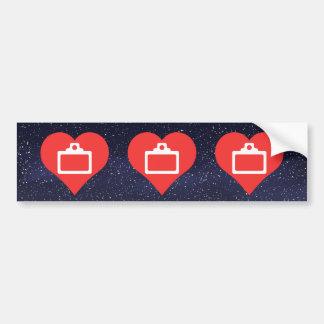 Clipboards Symbol Car Bumper Sticker