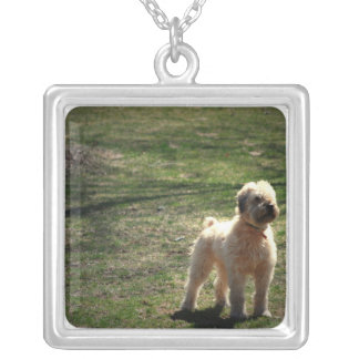 Clipped Old English Sheepdog Necklace