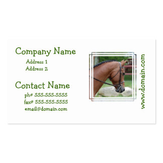 Clipped Pony Business Cards