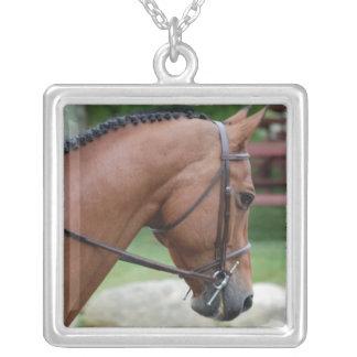 Clipped Pony Sterling Silver Neckalce Pendants