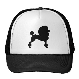 Clipped Standard Poodle Mesh Hat